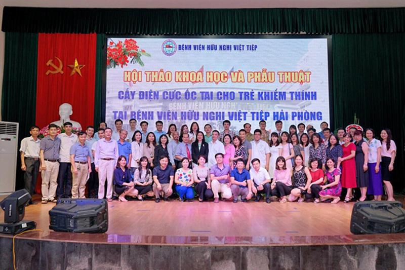 Hai ca cấy ốc tai điện tử Cochlear đầu tiên tại BV Việt Tiệp – Hải Phòng