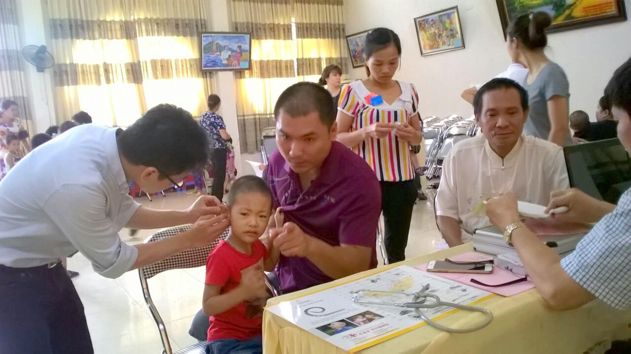 Chương trình thiện nguyện cho trẻ khiếm thính Thái Nguyên