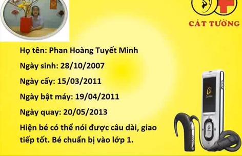 Làm anh - Bé Phan Hoàng Tuyết MInh