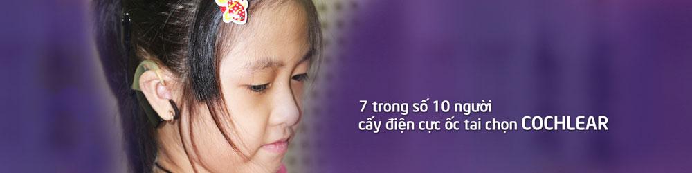 Trẻ em bị khiếm thính