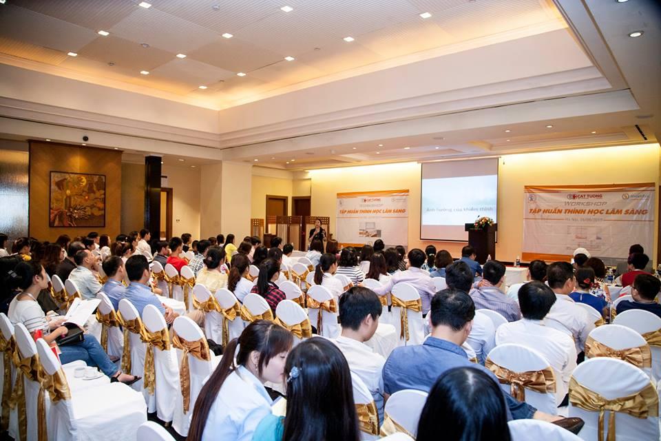 Trợ thính Cát Tường tổ chức workshop Thiết bị thính học tại Hà Nội