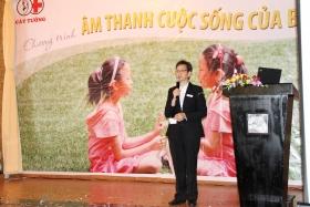 """Ảnh ngày hội """"Âm thanh Cuộc sống"""" của bé tại Hồ Chí Minh"""