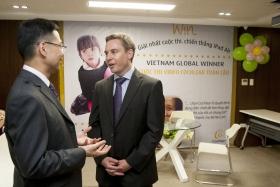 Ảnh trao giải cuộc thi video Cochlear toàn cầu